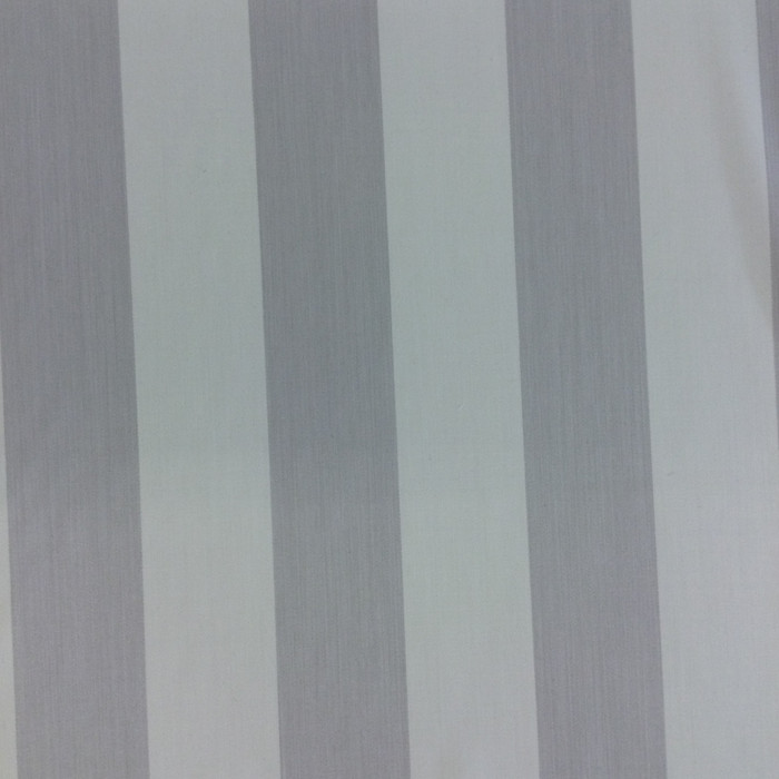 "4.13 Yard Piece Wool Blend Fabric | Gray / Off White Stripes | Apparel / Upholstery | 60"" Wide"
