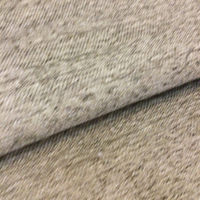 4.8 Yard Piece of Upholstery Fabric | Textured Chenille Taupe | Slipcovers / Home Decor | 54""