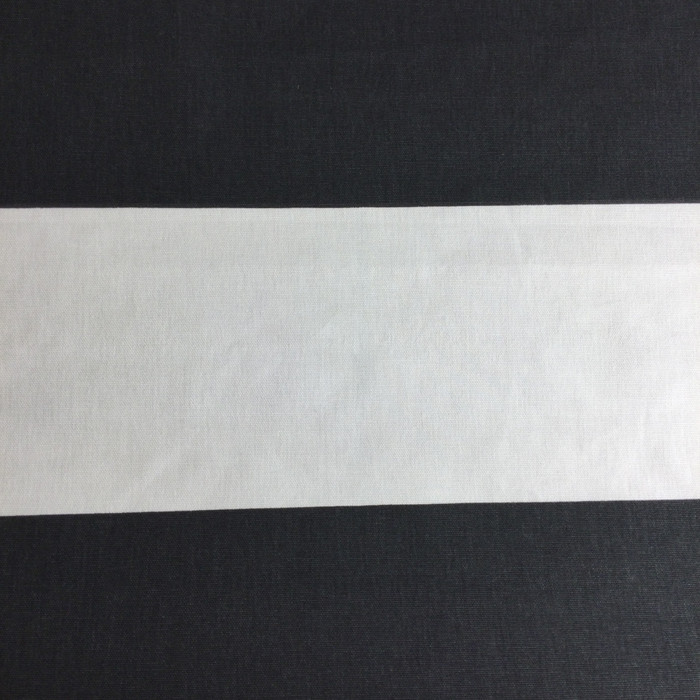 """5.3 Yard Piece of Home Decor Fabric   Black and White Stripes   Upholstery / Drapery   54"""" Wide"""