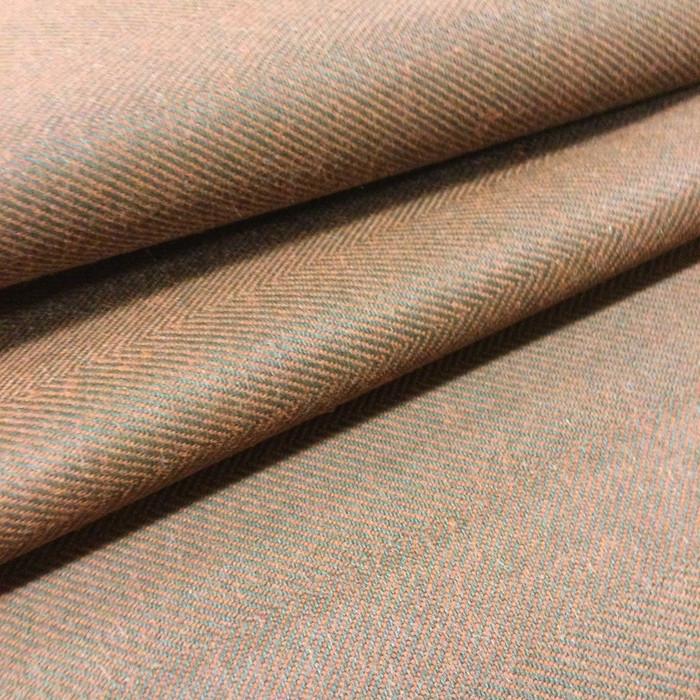 "5.8 Yard Piece of Drapery Fabric | Brick Herringbone | 54"" Wide"