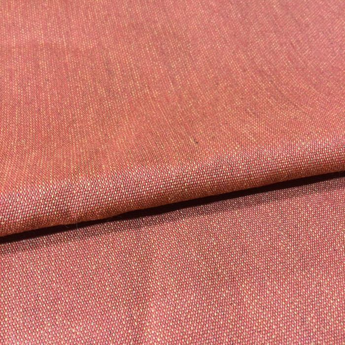 4.05 Yard Piece of Indoor / Outdoor Fabric | Burnt Orange | 54 Wide | Upholstery