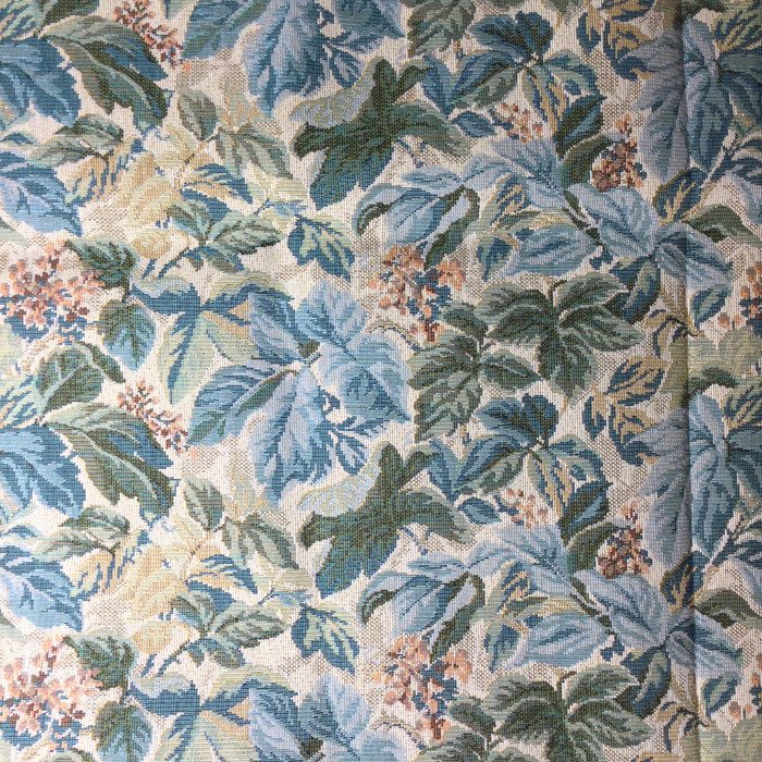 """Foliage in Green / Blue / Beige 