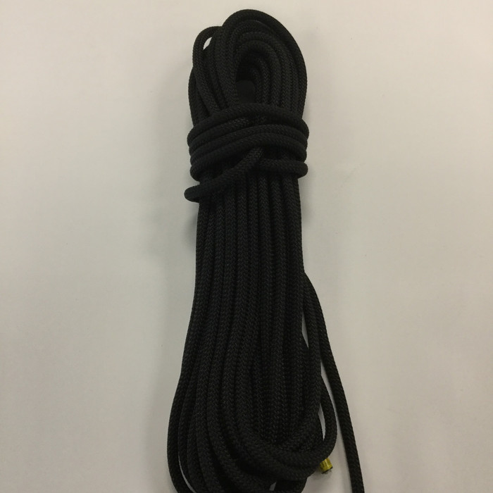 18.8 Yard Piece of Safety Rope - 10 mm | Black | By the Piece | Remnant