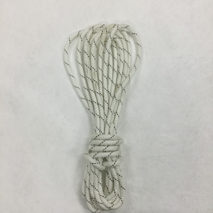 42.8 Yard Piece of Safety Rope -  10 mm | White | By the Piece | Remnant