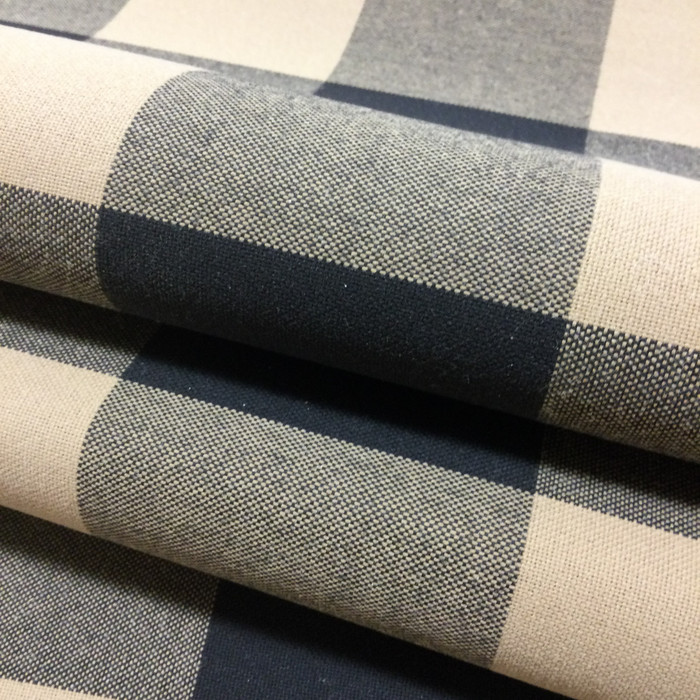 """Black and Tan Check Plaid 
