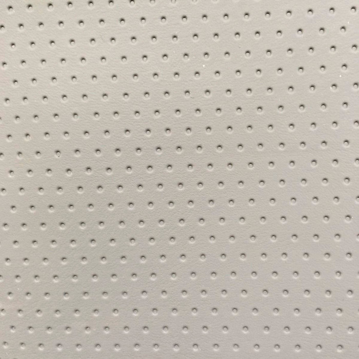 "1 Yard Piece of Gray Dimpled Dot Stretch Auto Vinyl Upholstery Fabric By The Yard 54""W"