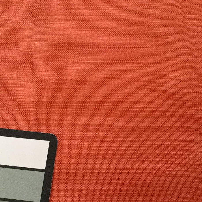 2.05 Yard Piece of Semisolid Salmon Orange Upholstery Fabric | 57 Wide | By the Yard | Durable