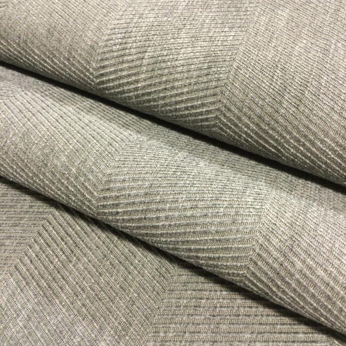 "Dark Grey Herringbone Microfiber | Upholstery Fabric | 54"" Wide | By the Yard"