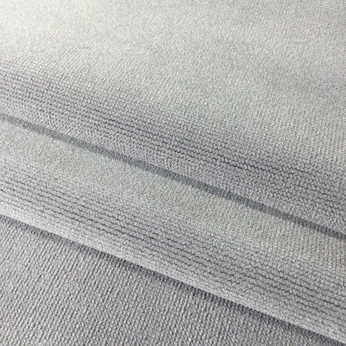 """Classic Medium Gray Velvet 