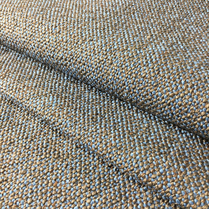 """Blue / Taupe Textured 