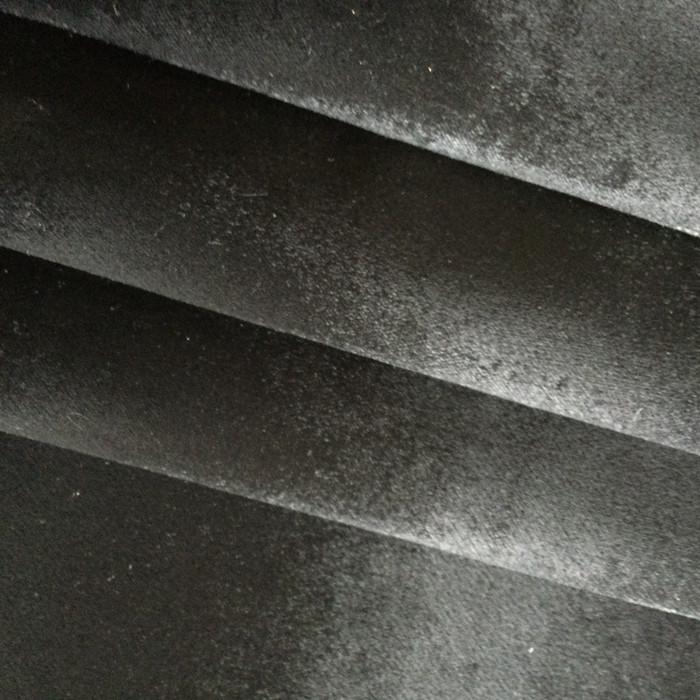 """Black Silky Soft Velvet   Heavy Velvet Upholstery Fabric   54"""" Wide   By the Yard"""