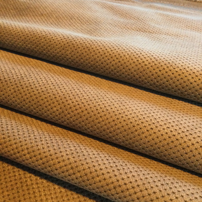 "Brown Dimpled Microfiber | Griffin by Richloom | Upholstery Fabric | 54"" Wide 