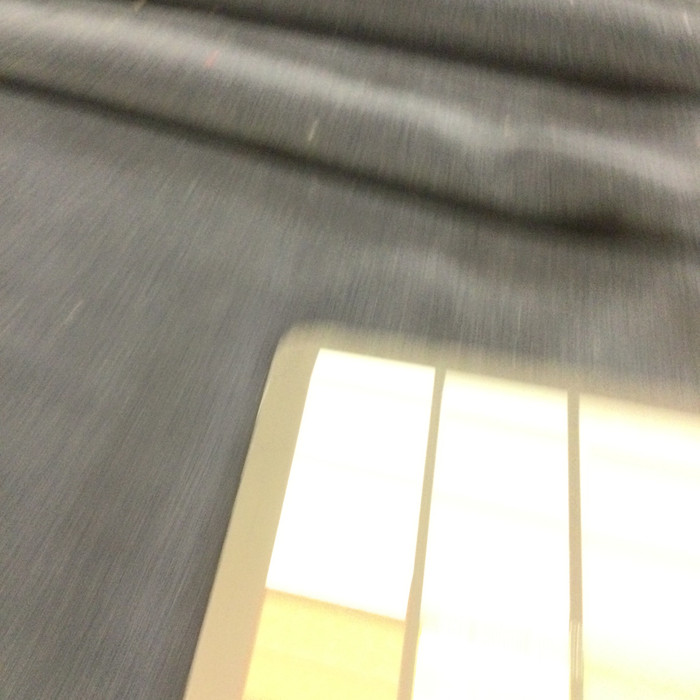 """Dark Charcoal Gray Velvet   Upholstery Fabric   54"""" Wide   By the Yard"""