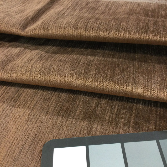 "Earth Brown | Microfiber Velvet Fabric | Upholstery | 54"" Wide 