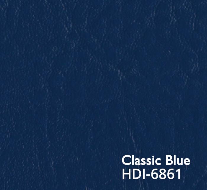 """1 Yard Piece of Heidi Soft Classic Blue   Spradling Softside Marine Vinyl Fabric   54""""W   BTY"""