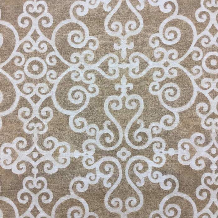 7 Yard Piece of Waverly Tendril in sahara (3) Fabric | Upholstery Weight | BTY | 54
