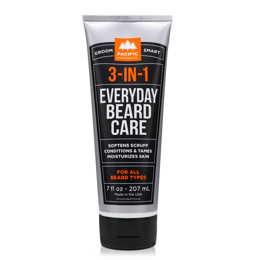3-in-1 Everyday Beard Care by Pacific Shaving Company