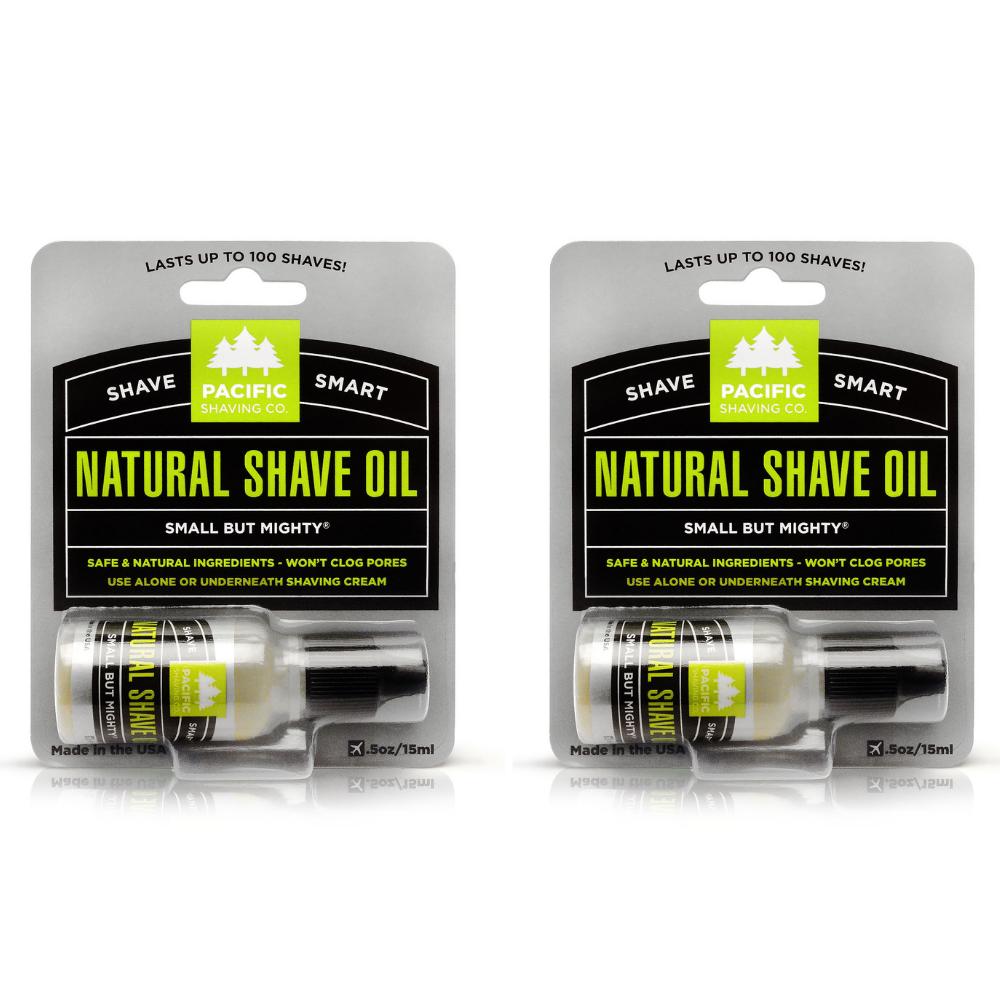 Natural Shaving Oil (1/2oz)