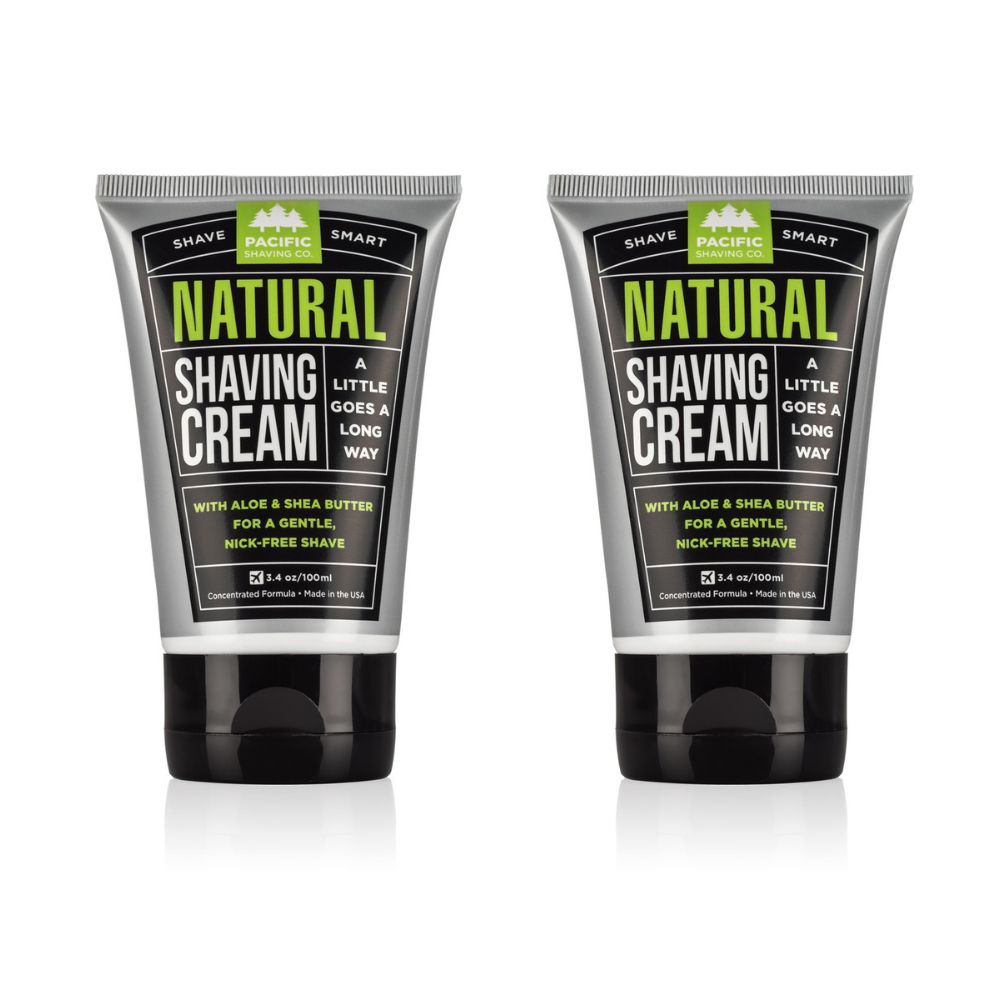 Natural Shaving Cream (3.4oz)