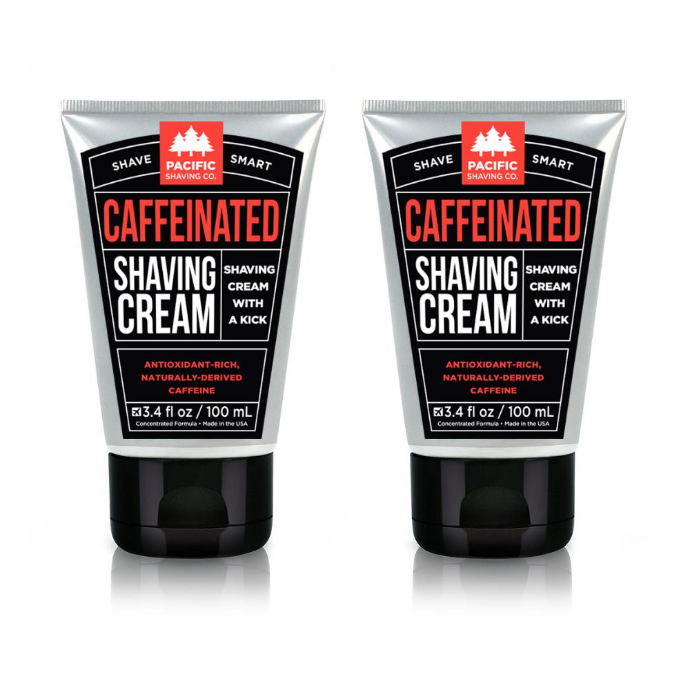 Caffeinated Shaving Cream (3.4oz)