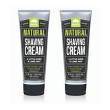 Natural Shaving Cream (7oz)