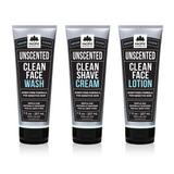 Clean (Unscented) 3-Step Grooming Regimen (7oz)