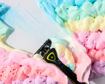 SHAVING CREAM IN COLOR (Mix & Match) |  4-PACK