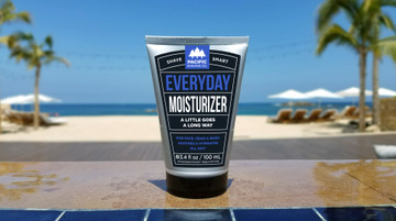 Everyday Moisturizer by Pacific Shaving Company. Treat yourself to our lightweight, post-shave miracle. Its unique blend of natural and potent moisturizers and antioxidants lets you skip the stinky stuff, and keeps your skin hydrated and healthy all day.