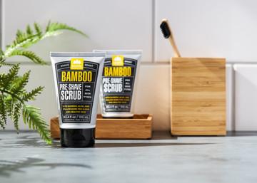 Bamboo Pre-Shave Scrub