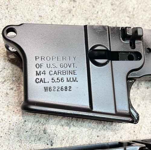 100% M4 - Black Anodized - Shipping in 3 weeks
