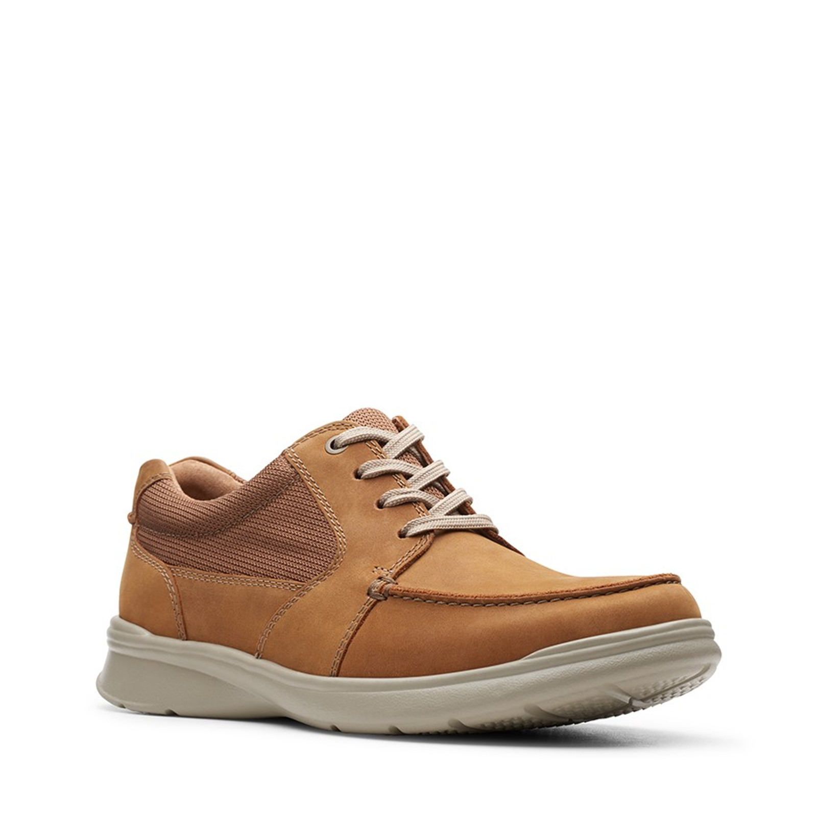 Shoe Warehouse Mens COTRELL LANE Tan Combo Leather