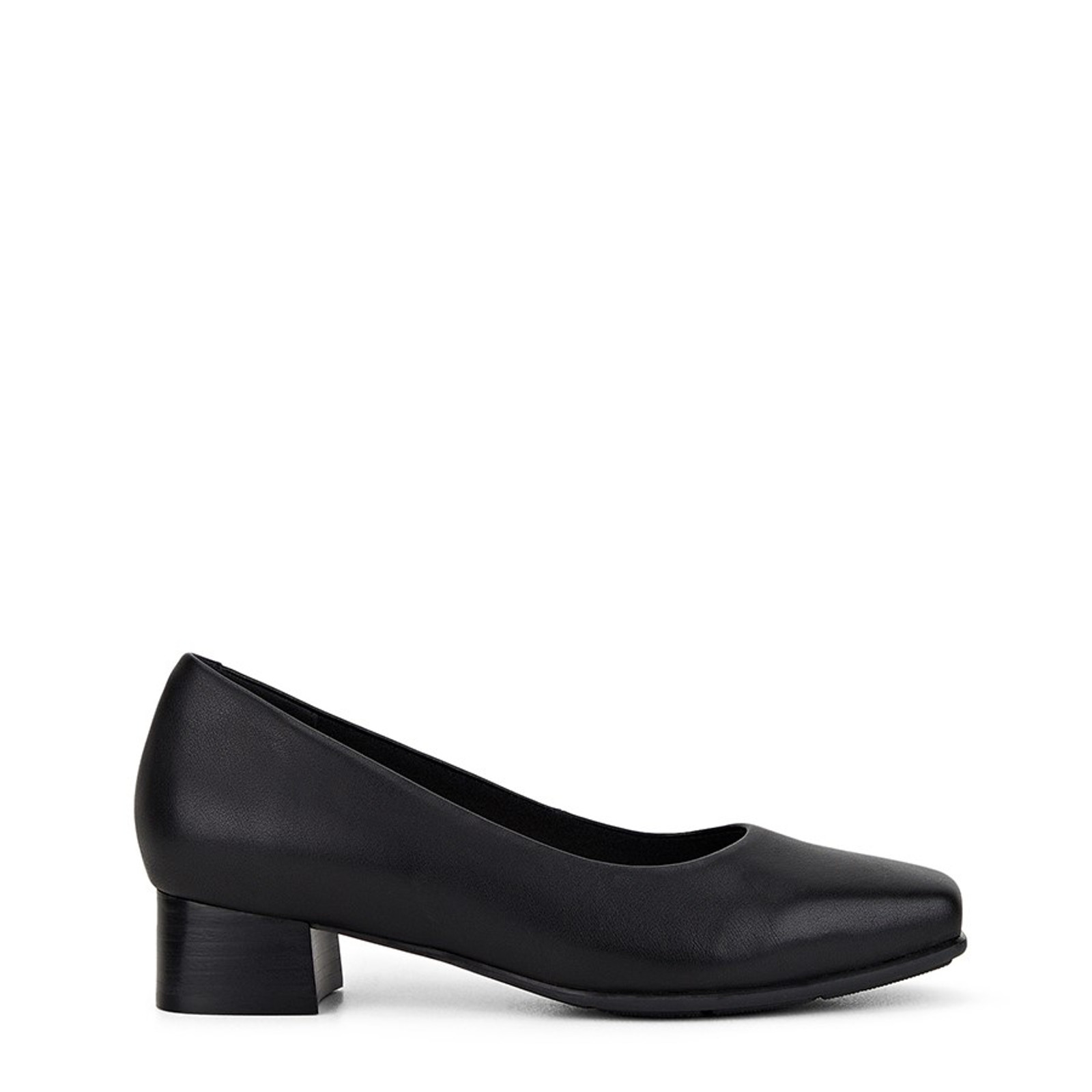 Shoe Warehouse Womens THE LOW SQUARE Black