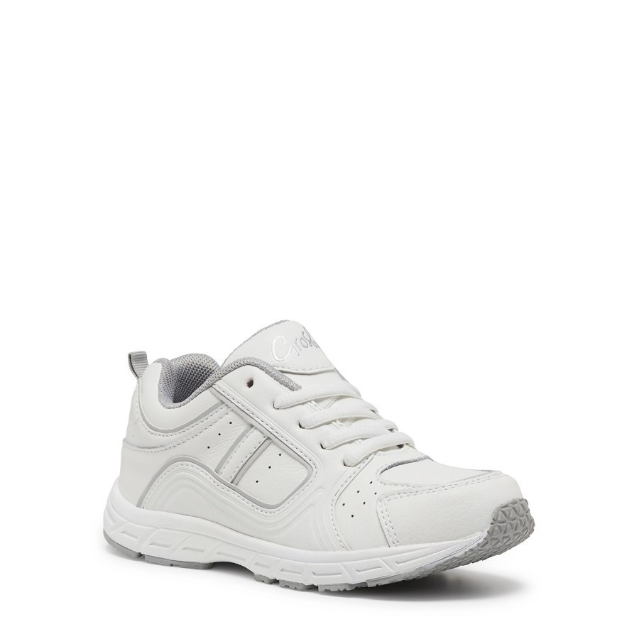 Shoe Warehouse Hype White/Silver