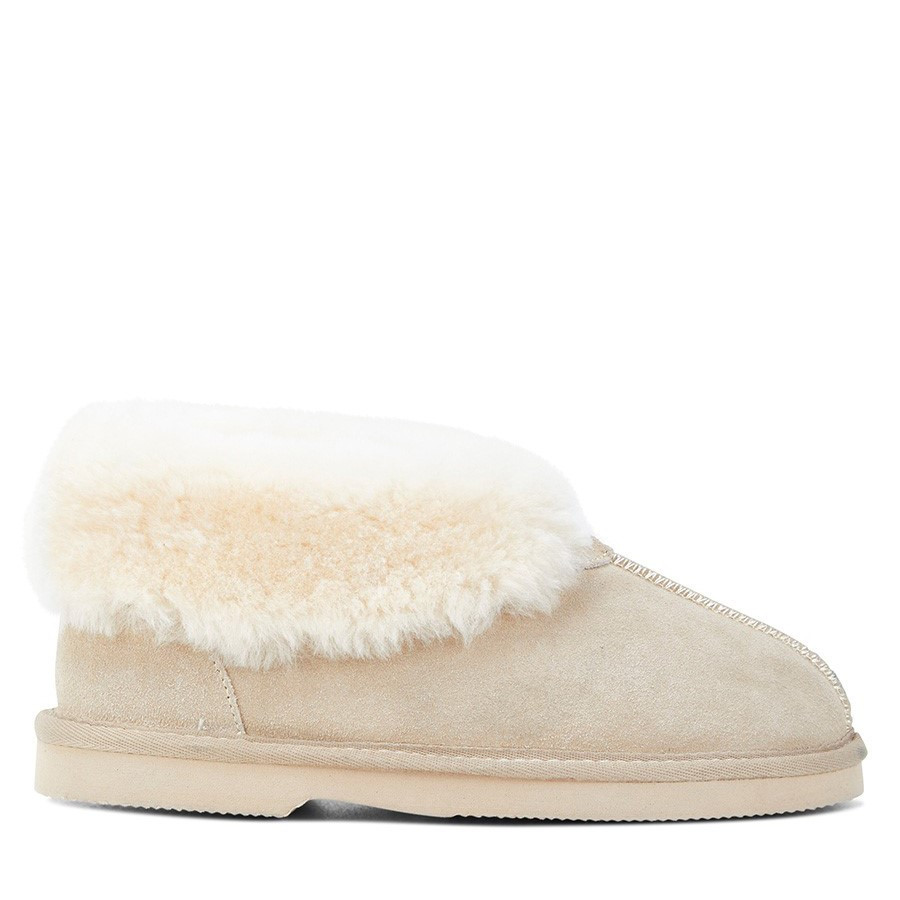 Shoewarehouse Princess Ugg Beige
