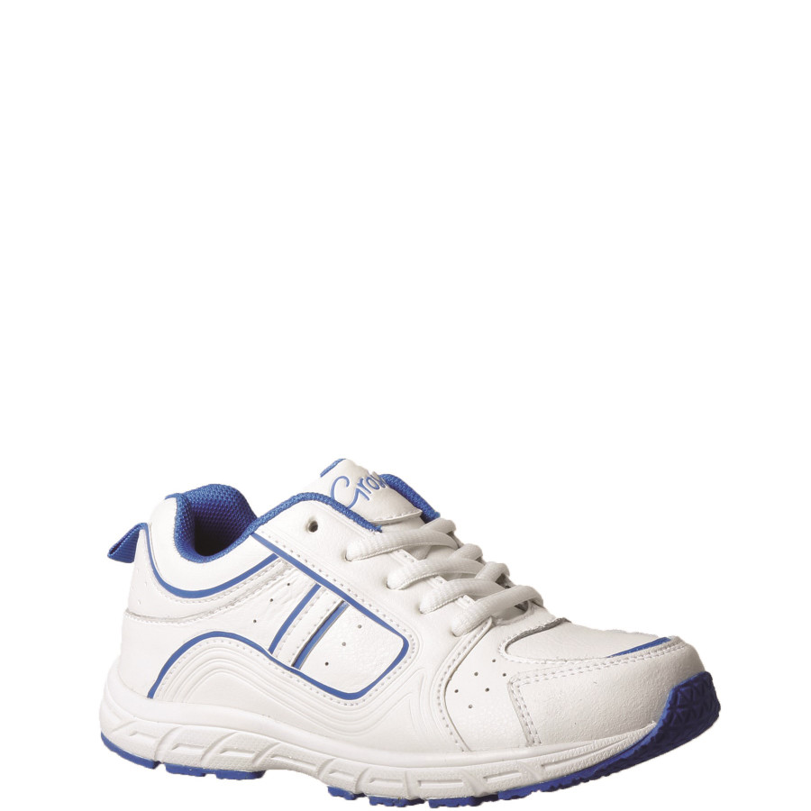 Shoe Warehouse Hype White/Blue