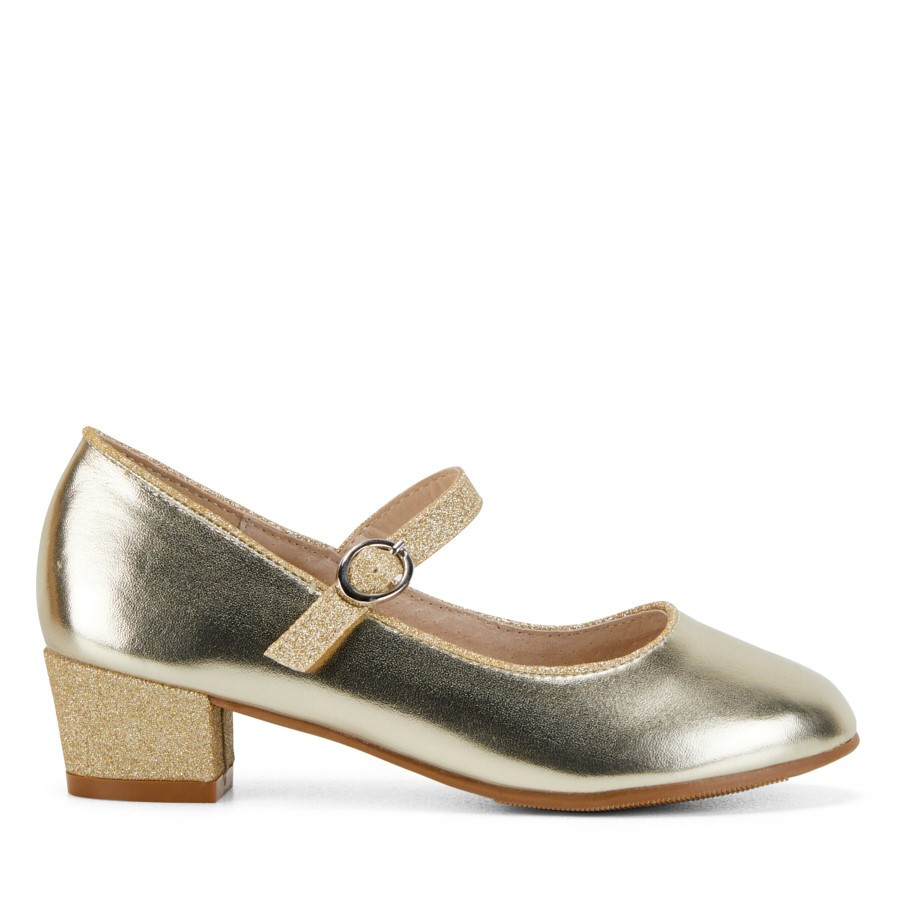 Shoewarehouse Roselie Soft Gold