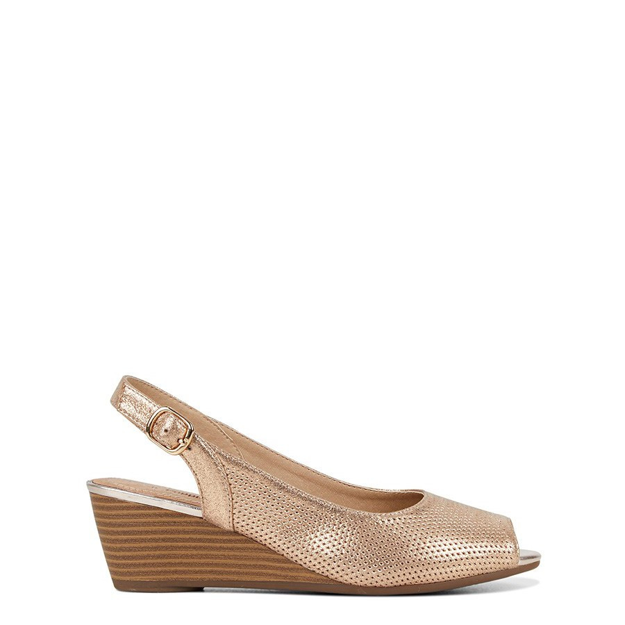 Shoe Warehouse Reed Rose Gold