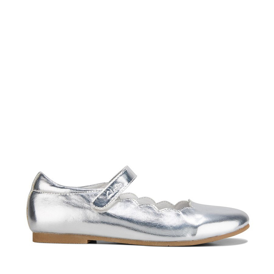 Shoewarehouse Audrey Snr Silver