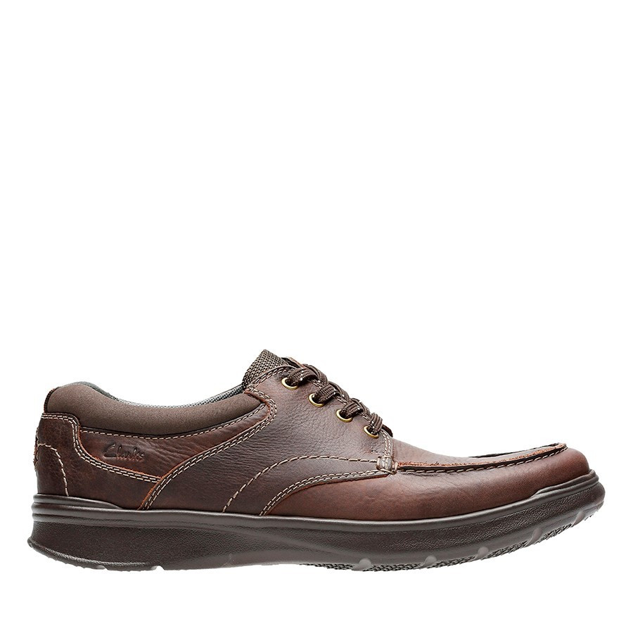 Shoe Warehouse Cotrell Edge Brown Oily