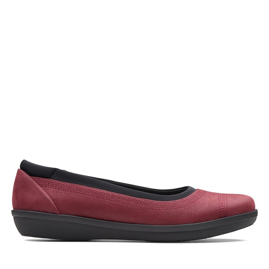 Shoe Warehouse Ayla Low Burgundy