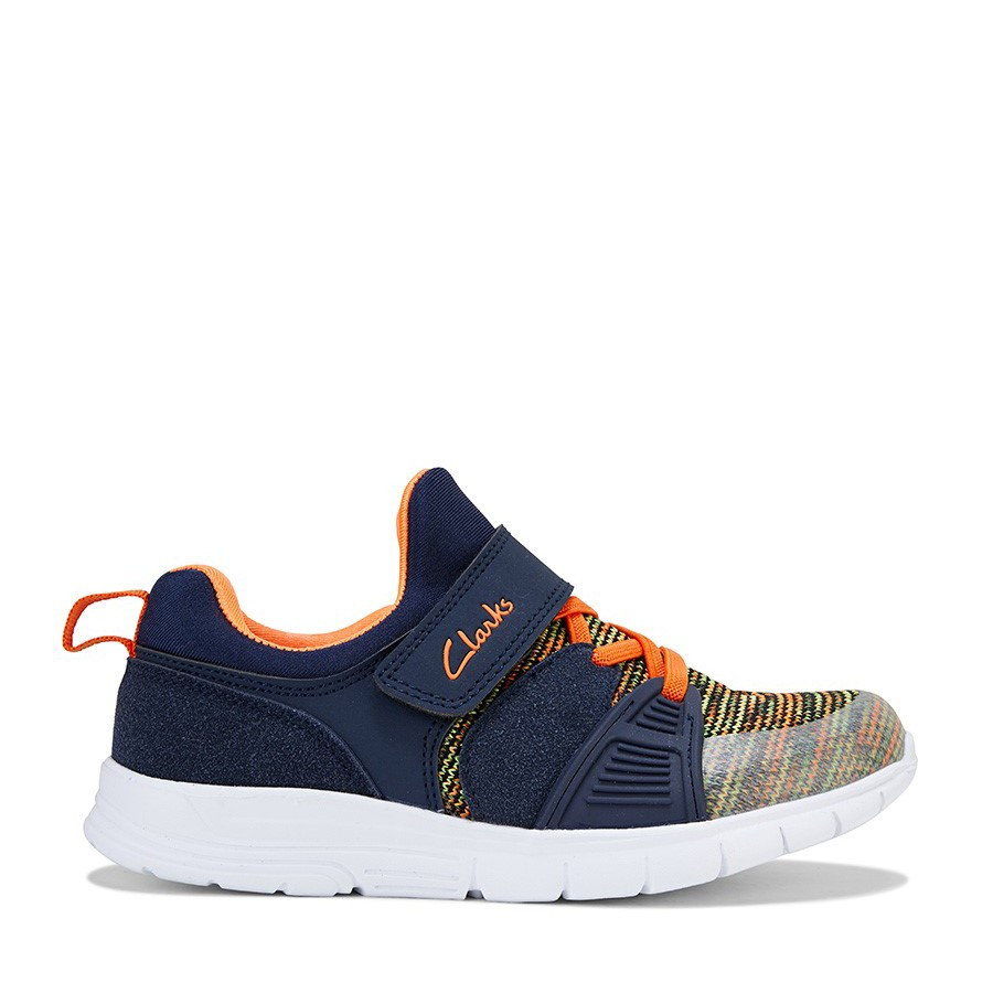 Shoe Warehouse Rush Navy/Orange
