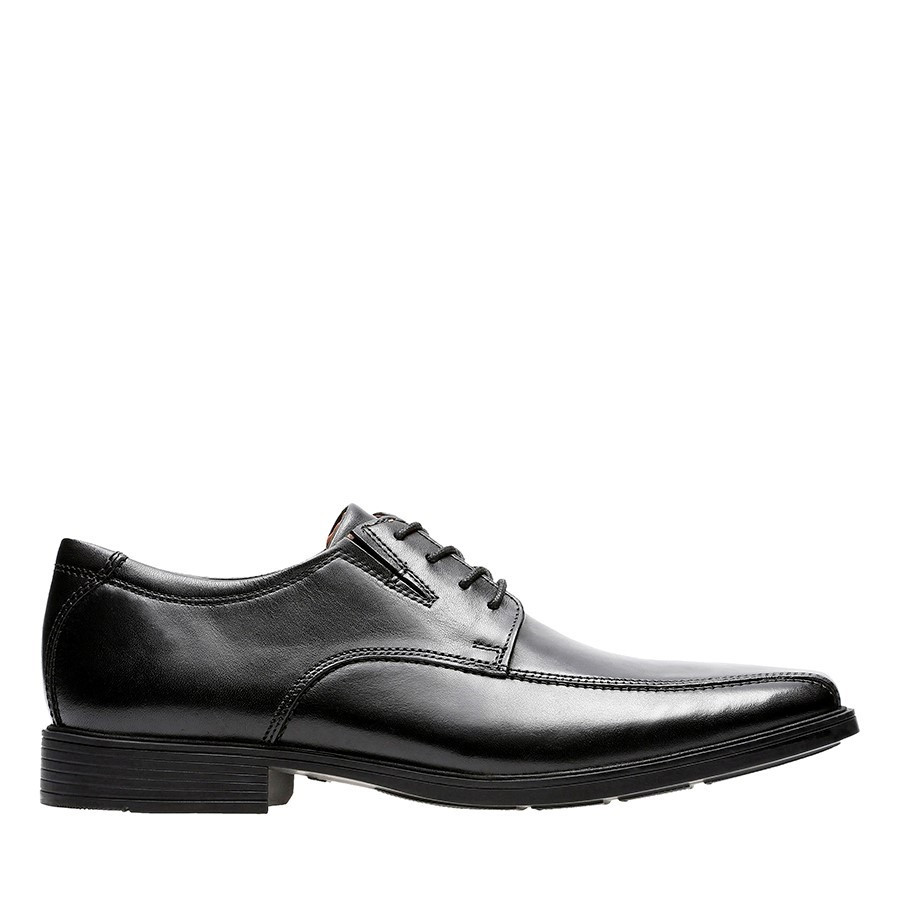 Shoe Warehouse Tilden Walk Black Leather