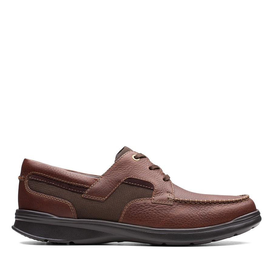 Shoe Warehouse Cotrell Cove Tobacco Leather