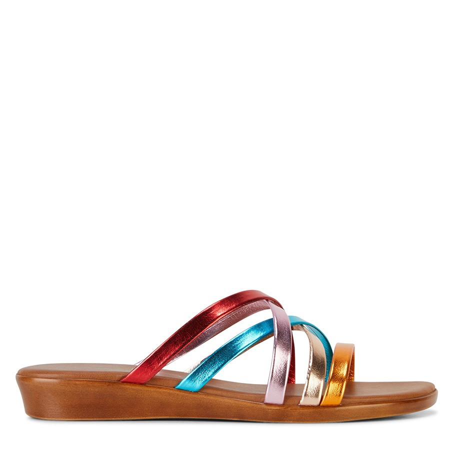Shoewarehouse Luna Multi Metallic