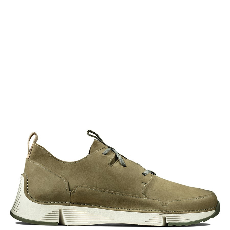 Shoe Warehouse Tri Solar Olive Nubuck