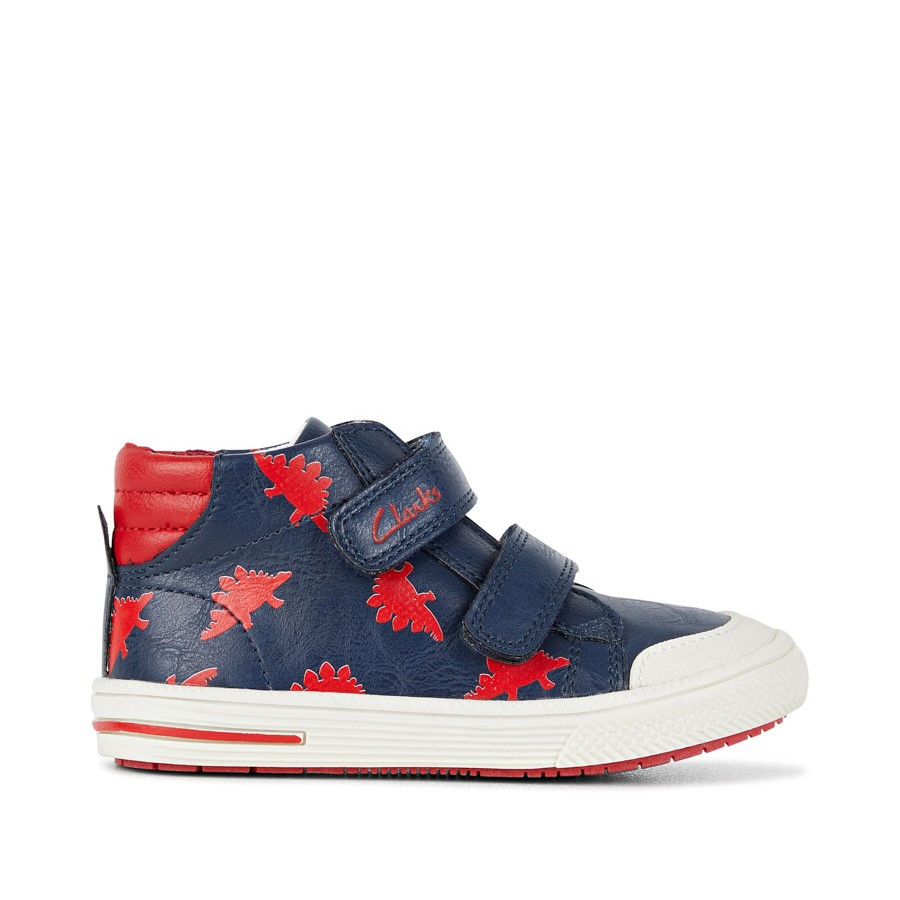 Shoe Warehouse Barney Navy/Red