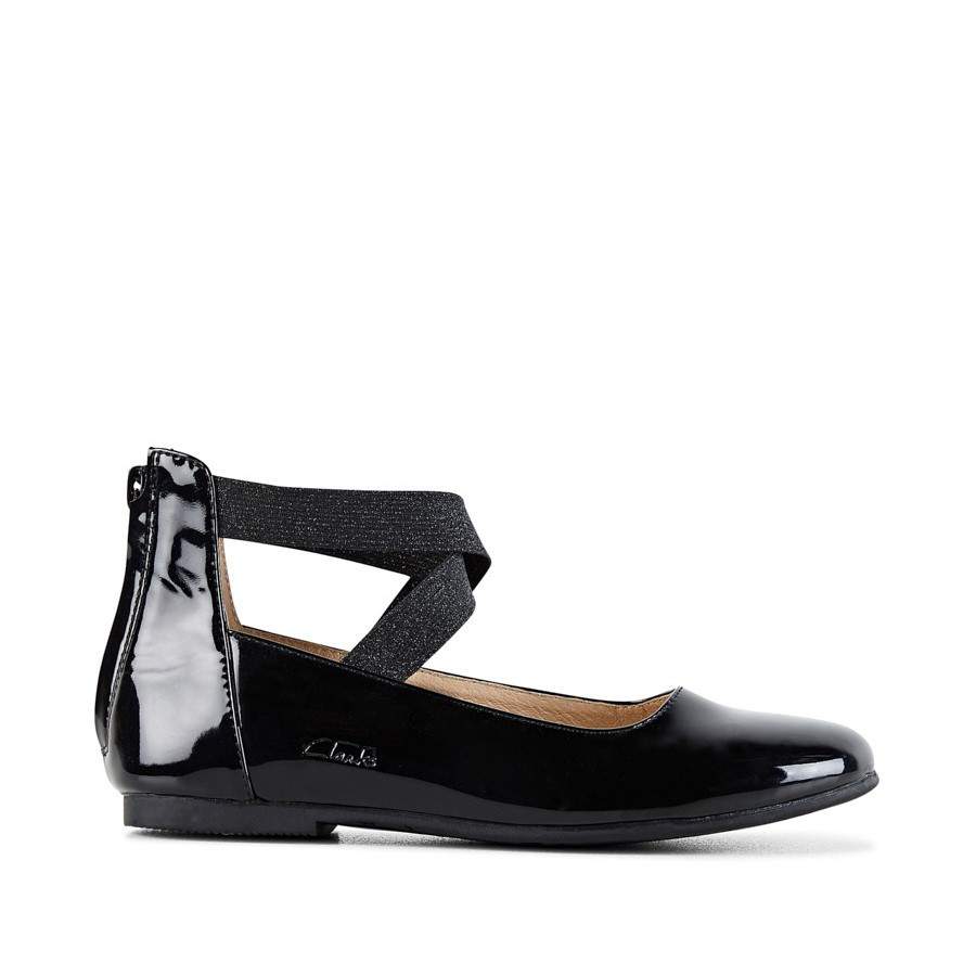 Shoewarehouse Abigail Black Patent