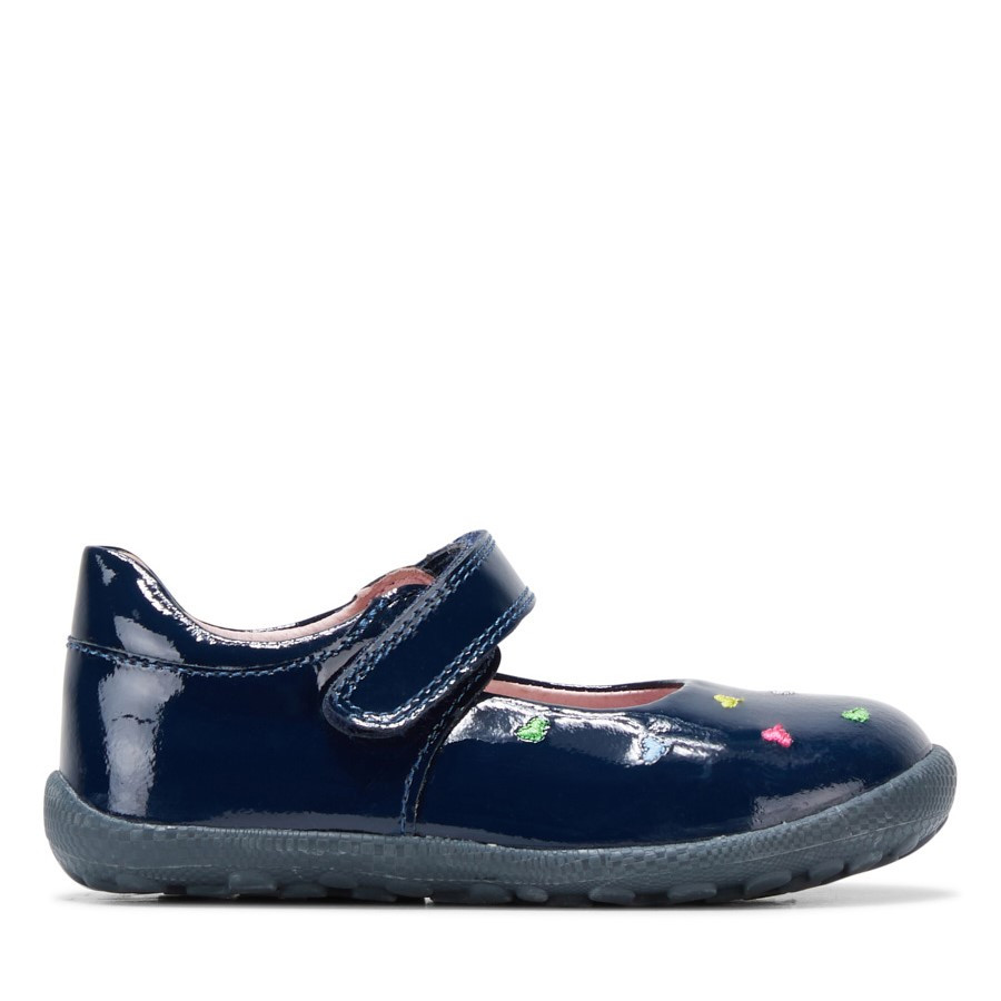 Shoe Warehouse Heart Navy