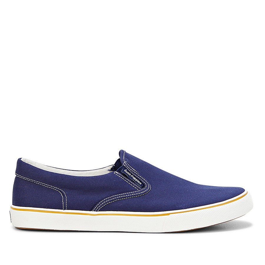 Shoe Warehouse Chandler Slip On Navy Canvas
