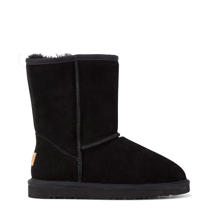 Shoe Warehouse Jackaroo Ugg Black